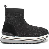 Παπούτσια Γυναίκα Ψηλά Sneakers Gold&gold B21 GB150 Μαύρος