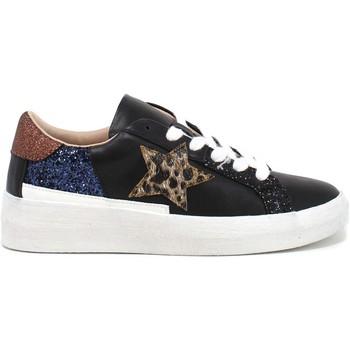 Παπούτσια Γυναίκα Χαμηλά Sneakers Gold&gold B21 GB157 Μαύρος