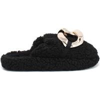 Παπούτσια Γυναίκα Παντόφλες Gold&gold B21 FL159 Μαύρος