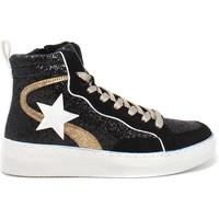 Παπούτσια Γυναίκα Ψηλά Sneakers Gold&gold B21 GB159 Μαύρος