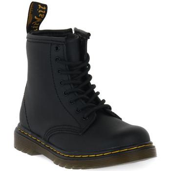 Παπούτσια Παιδί Μπότες Dr Martens 1460 BLACK SOFTY T Nero