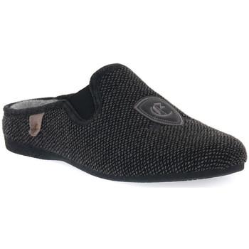 Παπούτσια Άνδρας Παντόφλες Emanuela 1600 ANTRACITE COLWEL Grigio