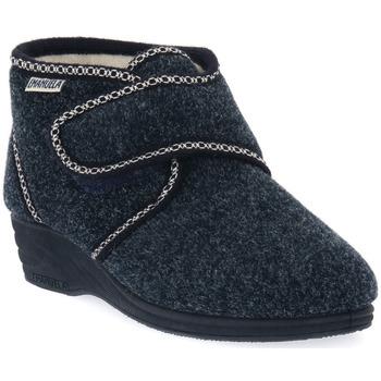 Παπούτσια Γυναίκα Παντόφλες Emanuela 831 BLU Blu