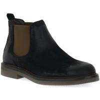 Παπούτσια Άνδρας Μπότες Exton ANTICATO NERO Nero