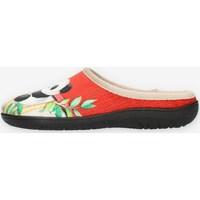 Παπούτσια Γυναίκα Παντόφλες Clia Walk HAPPY Red