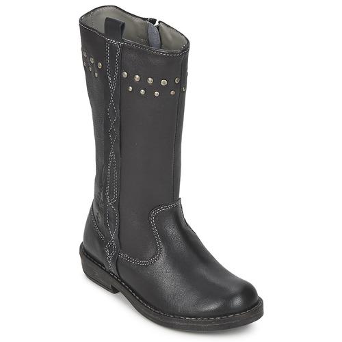 Παπούτσια Κορίτσι Μπότες για την πόλη Noel FREESIA Black