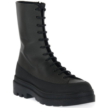 Παπούτσια Γυναίκα Μποτίνια Priv Lab 318 VITELLO MILITARE Nero