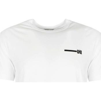 Υφασμάτινα Άνδρας T-shirt με κοντά μανίκια Les Hommes  Άσπρο