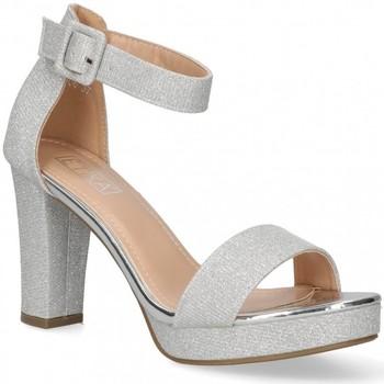 Παπούτσια Γυναίκα Σανδάλια / Πέδιλα Etika 58928 Silver