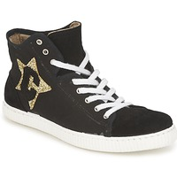 Παπούτσια Γυναίκα Ψηλά Sneakers Chipie JAVENE DOUDOU Black