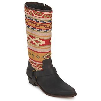 Παπούτσια Γυναίκα Μπότες για την πόλη Sancho Boots CROSTA TIBUR GAVA  καφέ-κόκκινο