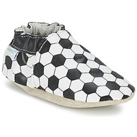 Παπούτσια Αγόρι Σοσονάκια μωρού Robeez GOAL Black / άσπρο