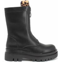Παπούτσια Γυναίκα Μποτίνια Gold&gold B21 GR191 Μαύρος