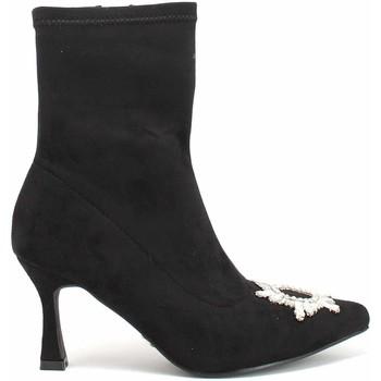 Παπούτσια Γυναίκα Μποτίνια Gold&gold B21 GP153 Μαύρος