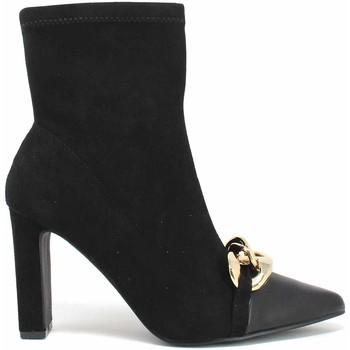 Παπούτσια Γυναίκα Μποτίνια Gold&gold B21 GD548 Μαύρος
