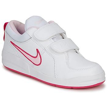 Παπούτσια Κορίτσι Χαμηλά Sneakers Nike PICO 4 PSV Ασπρό / Prism /  ροζ-spark