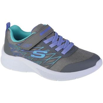 Παπούτσια Κορίτσι Χαμηλά Sneakers Skechers Microspec-Bold Delight Grise