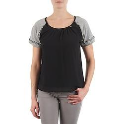 Υφασμάτινα Γυναίκα T-shirt με κοντά μανίκια Lollipops PADELINE TOP Black / Grey