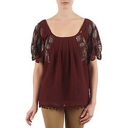 Υφασμάτινα Γυναίκα T-shirt με κοντά μανίκια Lollipops POCAHONTAS TOP BORDEAUX