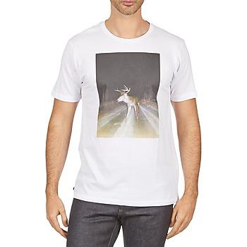 Υφασμάτινα Άνδρας T-shirt με κοντά μανίκια Kulte BALTHAZAR PLEIN PHARE 101931 BLANC άσπρο