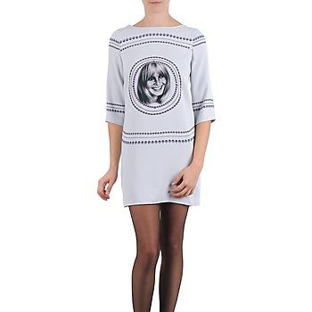 Υφασμάτινα Γυναίκα Κοντά Φορέματα Brigitte Bardot BB43121 Grey