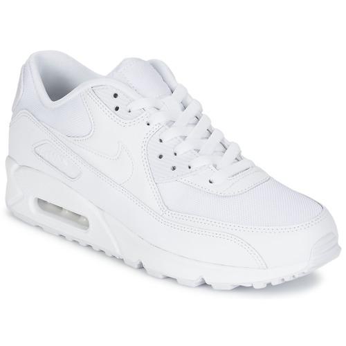 Παπούτσια Άνδρας Χαμηλά Sneakers Nike AIR MAX 90 ESSENTIAL Άσπρο