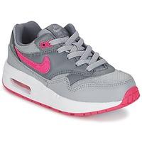 Παπούτσια Κορίτσι Χαμηλά Sneakers Nike AIR MAX 1 CADET Grey / ροζ