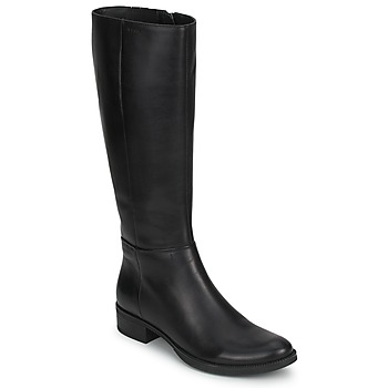 Παπούτσια Γυναίκα Μπότες για την πόλη Geox MENDI STIVALI BASIC Black