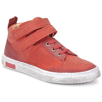 Παπούτσια Κορίτσι Ψηλά Sneakers Pom d'Api BACK BASKET Red