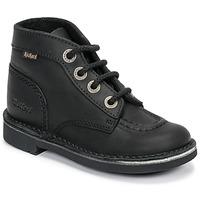 Παπούτσια Παιδί Μπότες Kickers KICK COL Black