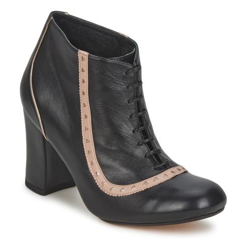 Παπούτσια Γυναίκα Μποτίνια Sarah Chofakian SALUT Black