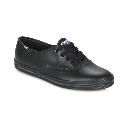 Παπούτσια Γυναίκα Χαμηλά Sneakers Keds CHAMPION LEATHER Black