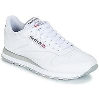 Παπούτσια Άνδρας Χαμηλά Sneakers Reebok Classic CL LEATHER άσπρο