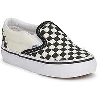 Παπούτσια Παιδί Slip on Vans CLASSIC SLIP ON KIDS Black / Άσπρο