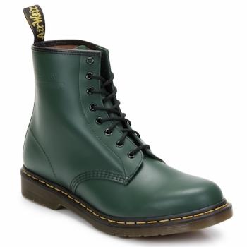 Παπούτσια Γυναίκα Μποτίνια Dr Martens 1460 8 EYE BOOT Green