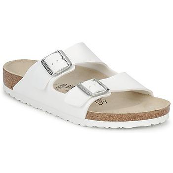 Παπούτσια Τσόκαρα Birkenstock ARIZONA Άσπρο