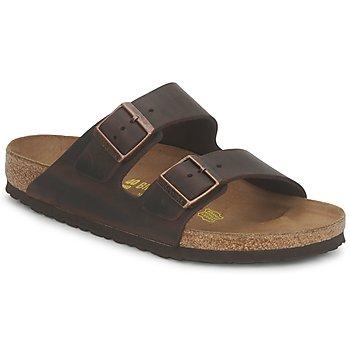 Παπούτσια Άνδρας Τσόκαρα Birkenstock ARIZONA LARGE FIT Habana