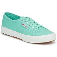 Παπούτσια Γυναίκα Χαμηλά Sneakers Superga 2750 COTU CLASSIC Pastel / Πρασινο
