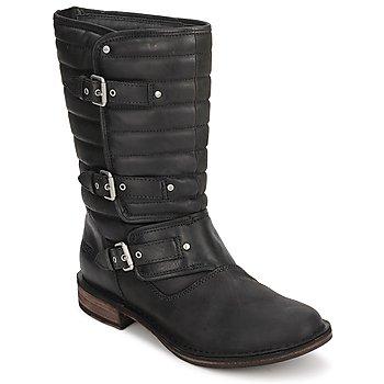Παπούτσια Γυναίκα Μπότες UGG TATUM ΜΑΥΡΟ