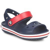Παπούτσια Παιδί Σανδάλια / Πέδιλα Crocs CROCBAND SANDAL Marine / Red