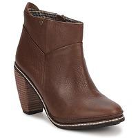 Παπούτσια Γυναίκα Μποτίνια Feud LIGHT Brown