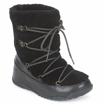 Παπούτσια Γυναίκα Snow boots FitFlop SUPERBLIZZ Black
