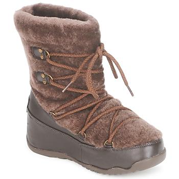 Παπούτσια Γυναίκα Snow boots FitFlop SUPERBLIZZ Σοκολά
