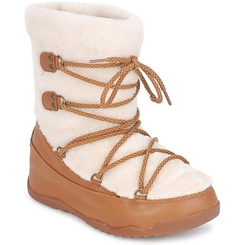 Παπούτσια Γυναίκα Snow boots FitFlop SUPERBLZZ Beige / Brown