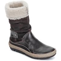 Παπούτσια Γυναίκα Μπότες Snipe POLIGHT SUEDE DOUBLE FACE Σοκολά / Καφέ