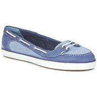 Παπούτσια Γυναίκα Boat shoes Timberland EK DEERING BOAT BALLERINA Μπλέ