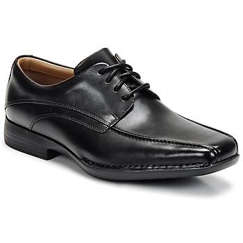 Παπούτσια Άνδρας Derby Clarks FRANCIS Black