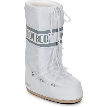 Παπούτσια Γυναίκα Snow boots Moon Boot CLASSIC Άσπρο / Silver
