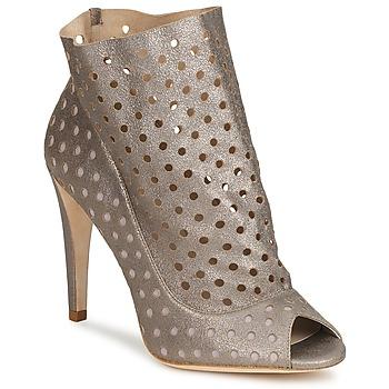 Παπούτσια Γυναίκα Μποτίνια Bourne RITA Silver