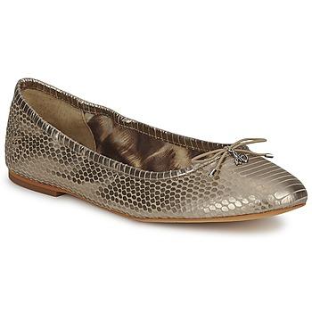 Παπούτσια Γυναίκα Μπαλαρίνες Sam Edelman FELICIA Light / ΧΡΥΣΟ / Μεταλικό / SNAKE